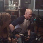 Derek Mears and Jenny Flack