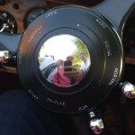 Steering Wheel Reflection