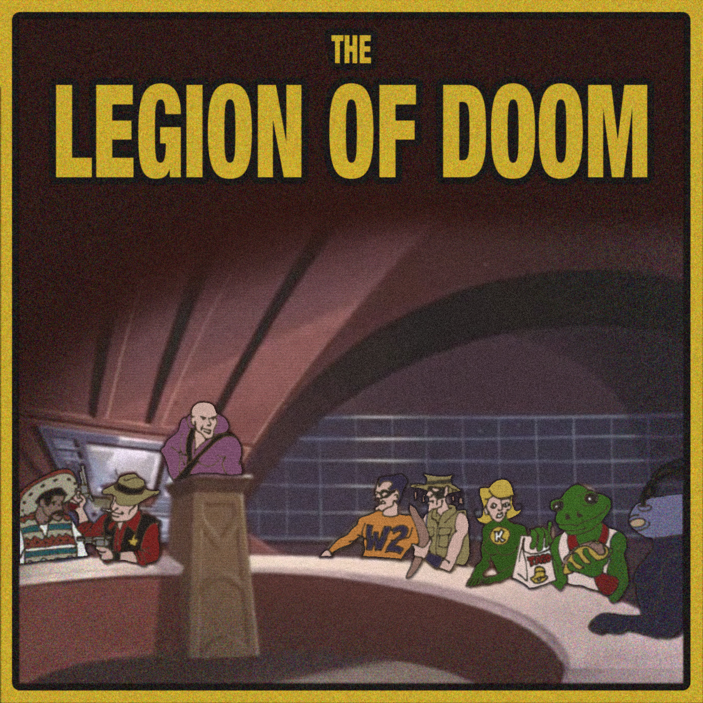 the legion of doom essay The stable was short lived and the name legion of doom soon referred only to the road warriors and ellering with either name the road warriors / legion of doom.